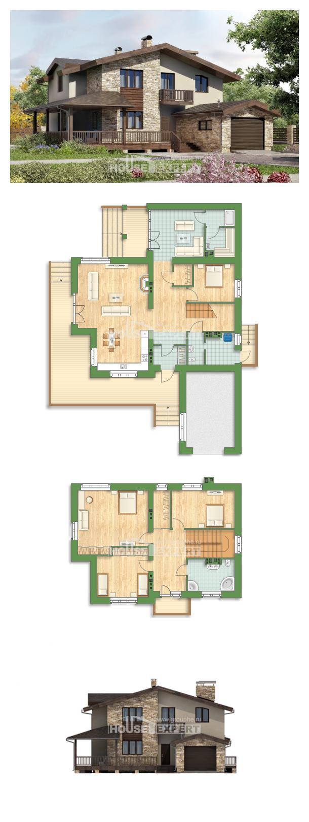 Проект дома 220-001-Л | House Expert