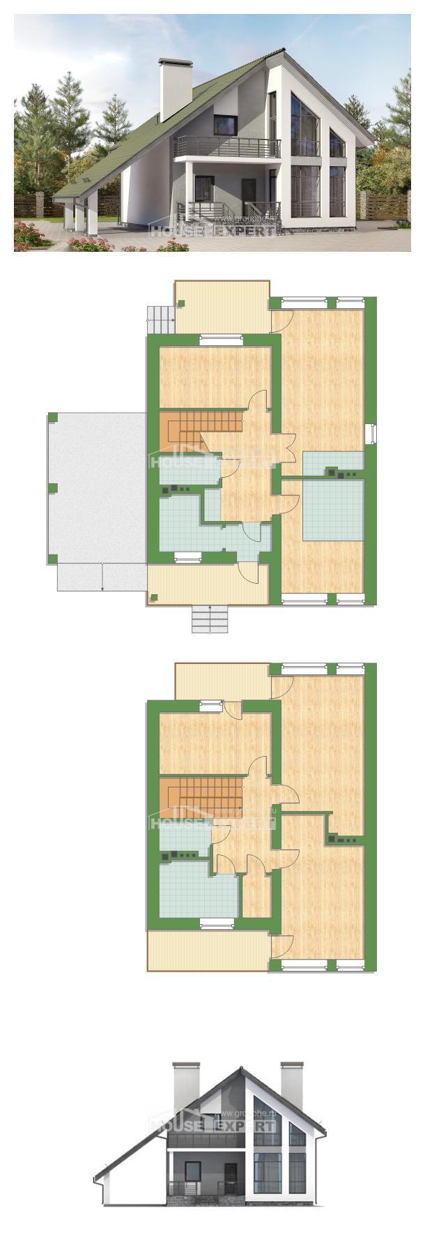 Проект дома 170-009-Л | House Expert