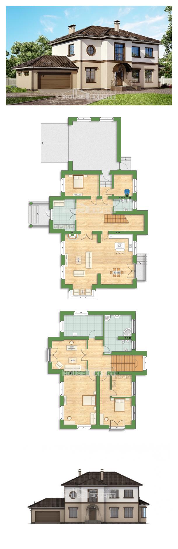 Проект дома 290-004-Л | House Expert