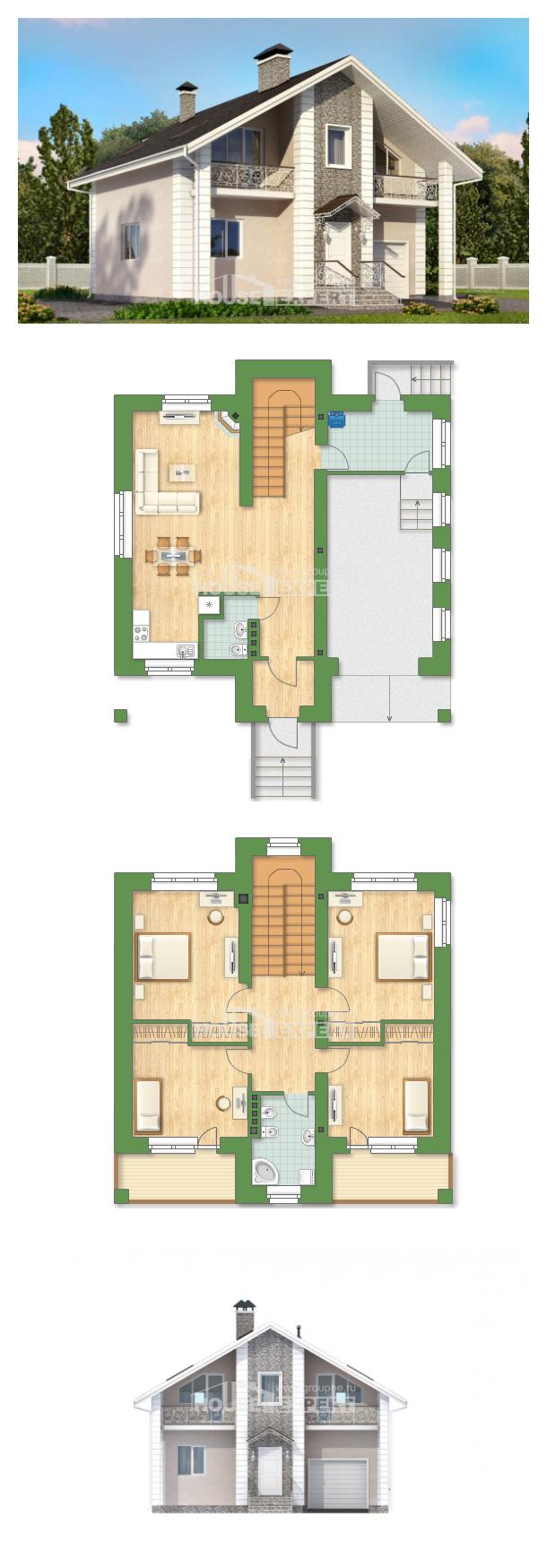 Проект дома 150-002-П   House Expert