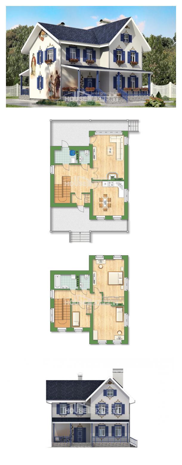 Проект дома 180-003-П | House Expert