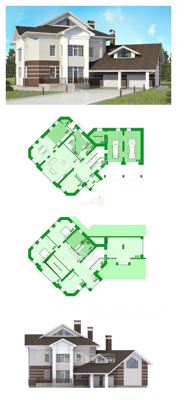 Проект дома 410-001-П | House Expert