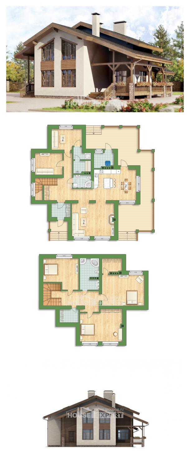 Проект дома 240-003-П | House Expert