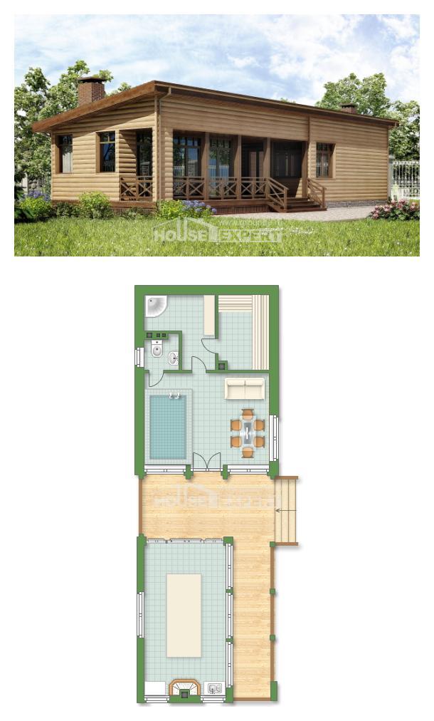 Проект дома 060-004-П   House Expert