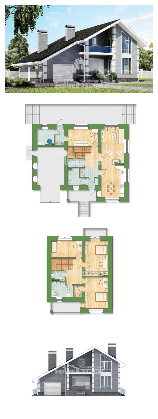 Проект дома 190-006-Л   House Expert