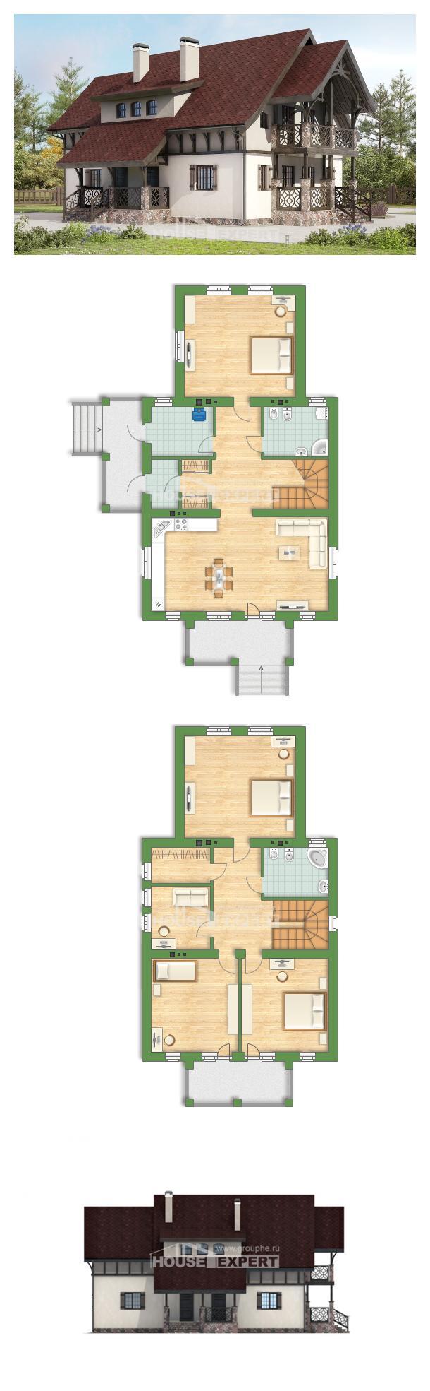 Проект дома 180-014-П   House Expert