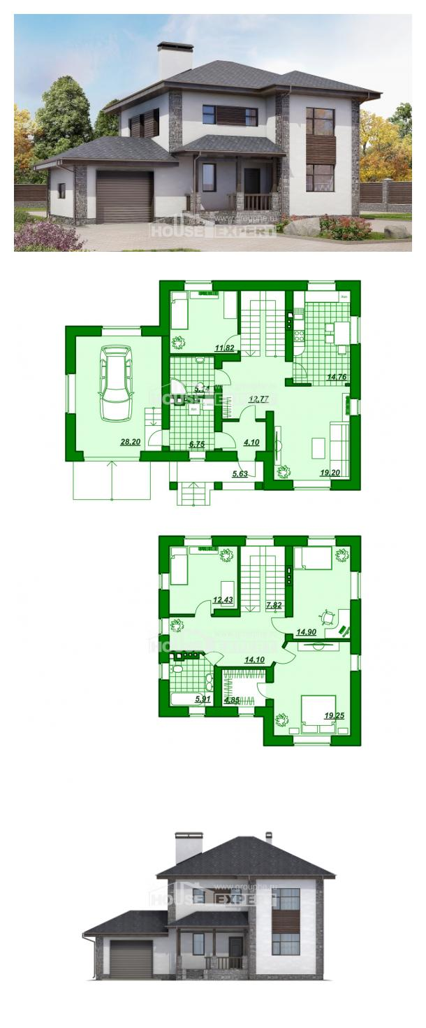Проект дома 185-004-Л   House Expert