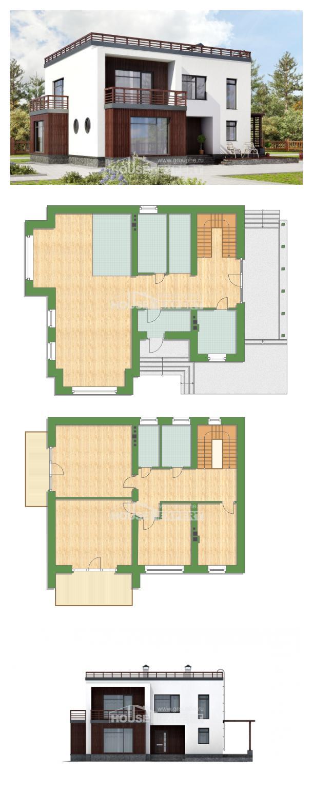 Проект дома 215-002-П   House Expert