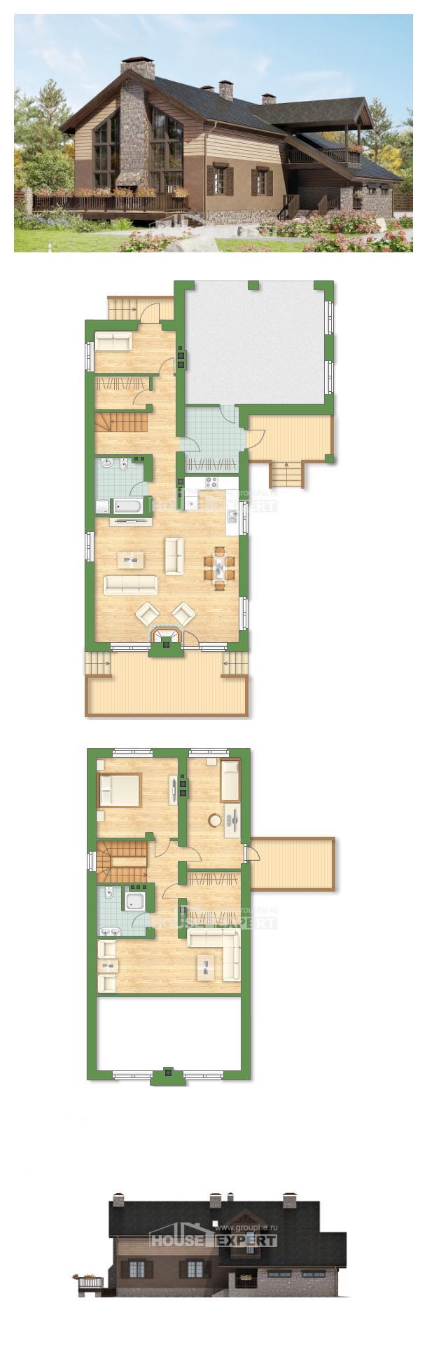 Проект дома 240-002-П | House Expert